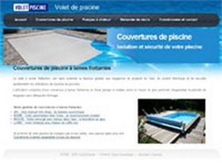 Volet Piscine, couverture et sécurité de piscine