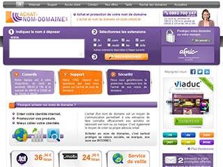 Achat Nom Domaine : Réserver et acheter un nom de domaine