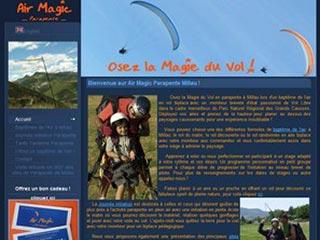 Air Magic Parapente, découvrez le parapente à Millau