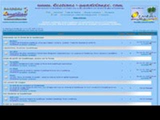 Kestions-Guadeloupe, le forum Guadeloupe