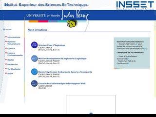 Institut de formation : Licence Master