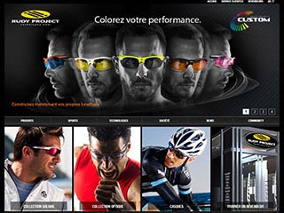 Rudy Project : vente de lunettes de sport, de masques et de casques