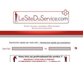 Le Site du Service : Aide à la personne