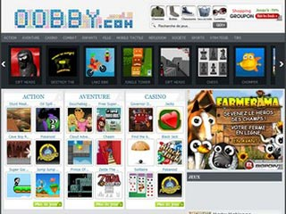 Oobby, jeux mobile tactile gratuit