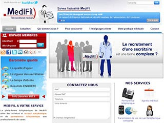 Medifil, spécialiste du secrétariat médical
