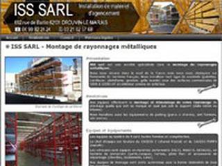 Sarl ISS, spécialiste du montage de rayonnages métalliques