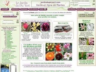 jardin du pic vert vente en ligne de plantes de jardin. Black Bedroom Furniture Sets. Home Design Ideas