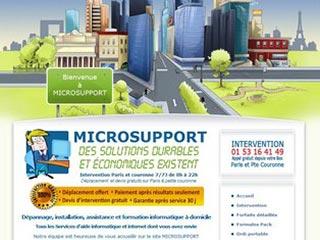 Microsupport, dépannage informatique PARIS IDF