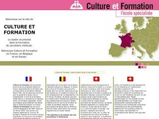 Culture et Formation, Ecole privée en secrétariat médical