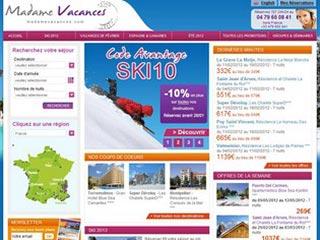 Madame Vacances, le site incontournable du tourisme en France