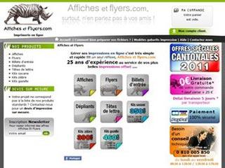 Affiches et Flyers, imprimeur en ligne