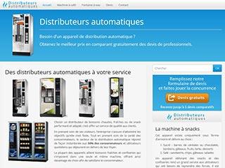 www.distributeursautomatiques.net : Des machines pour vous servir