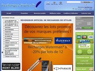 Recharges-Stylos : Vente de recharges pour stylos