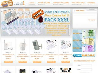Securite good deal : Alarme maison et camera espion