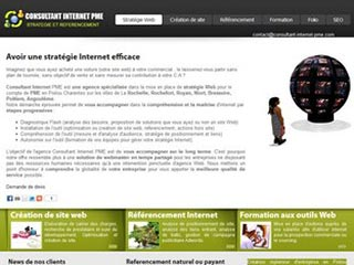 Consultant Internet PME, referencement site web à Niort
