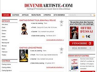 Devenir Artiste : Le blog castings gratuits