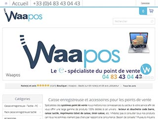 Douchette caisse - Waapos - Point de vente
