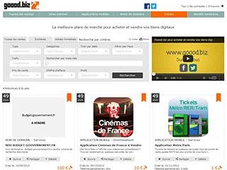 Goood.biz la meilleure place de marché pour vos biens digitaux