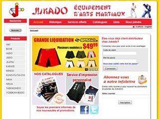 Jukado, boutique d'équipement d'arts martiaux