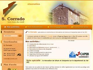 S.Corrado, création et rénovation bâtiments dans le Var