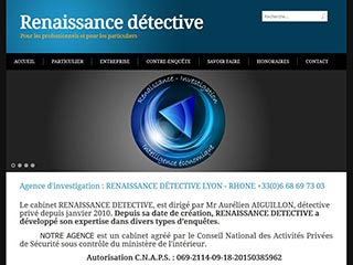 Renaissance detective prive lyon