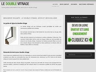 Double Vitrage : Devis en ligne pour fenêtre à double vitrage
