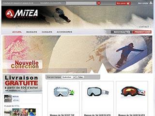 Mitéa ski : Vente en ligne de casque et masque de ski