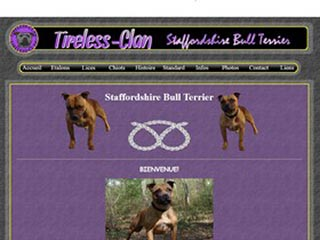 Tireless Clan : Elevage Staffordshire bull terrier