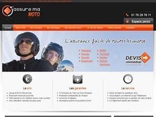 Jassuremamoto : Assurance moto en ligne