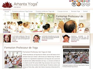 Arhanta Yoga Ashrams, formation professeur de yoga