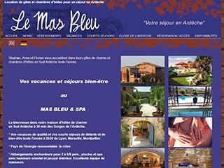 Le Mas Bleu - Location en ligne d'un gite de charme