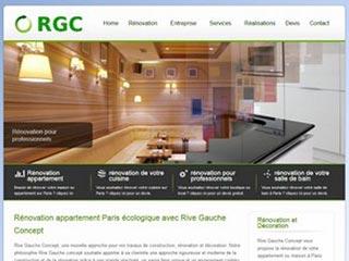 Rive Gauche Concept, rénovation et travaux sur paris