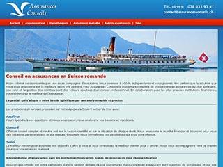 Conseils professionnel en assurances - Suisse romande