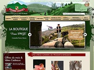 Pierre Oteiza : Boutique en ligne de spécialités basques