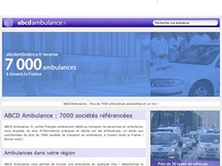ABCDAmbulance : Contacter rapidement une ambulance