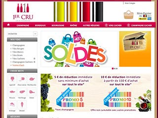 1er Cru, vente de vins et champagnes en ligne