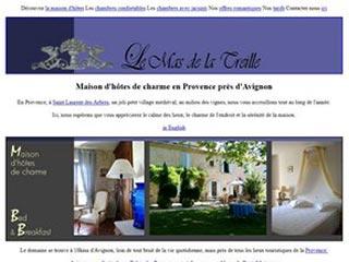 Mas de la Treille, maison d'hôtes près d'Avignon