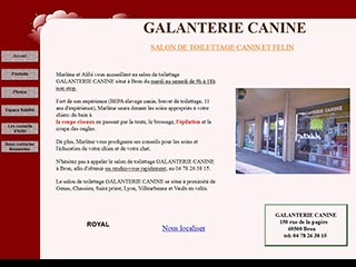 Galanterie canine : Salon de toilettage pour chiens et chats