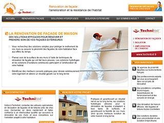 Technitoit, spécialiste rénovation façade de maison