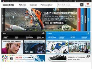 Adidas Shop, la boutique officielle de la marque