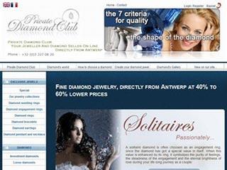 Private Diamond Club : Bijouterie-Joaillerie en ligne