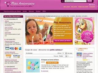 Miss Anniversaire : Décoration d'anniversaire enfant