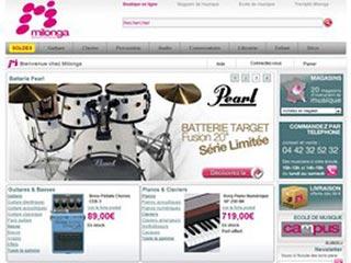 Milonga, leader de la vente d'instruments de musique