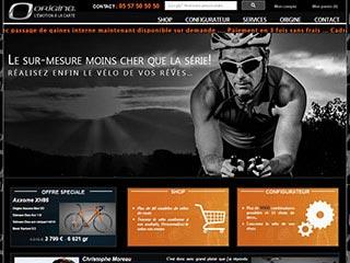 Origine Cycles : vélo de route sur mesure