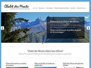 Chalet des Monts en Savoie, centre de vacances à la montagne