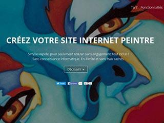 Peintres pro, plateforme de création de sites web spécialisés