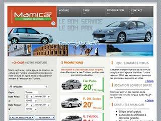 Mamicar, location voiture en Tunisie