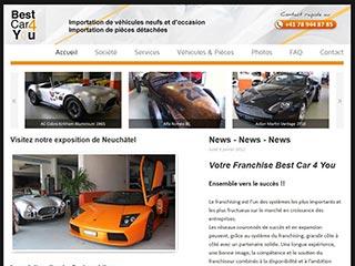 Best Car 4 you, importation de véhicules neufs et d'occation
