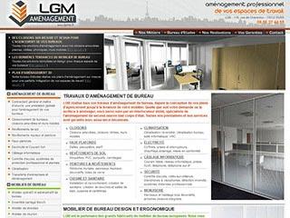 LGM Aménagement d'espaces de travail professionnels