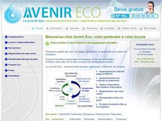 Avenir Eco : assainissement collectif et épuration